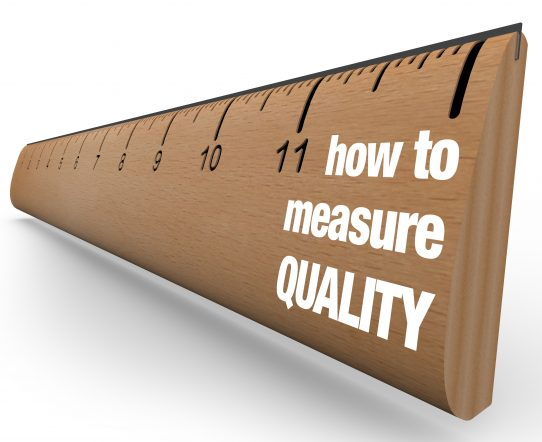 ruler how to measure quality