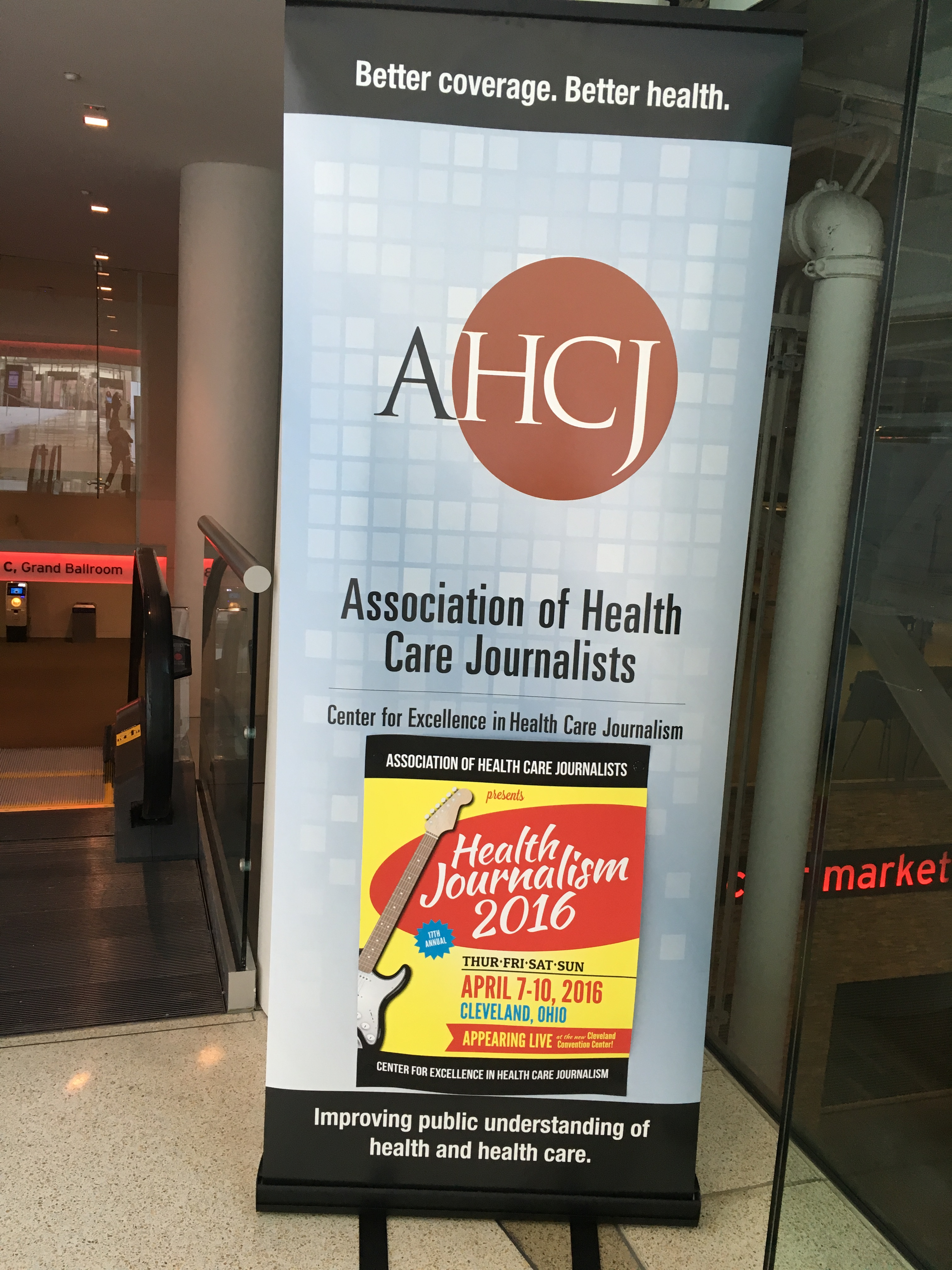 AHCJ 2016 in Cleveland