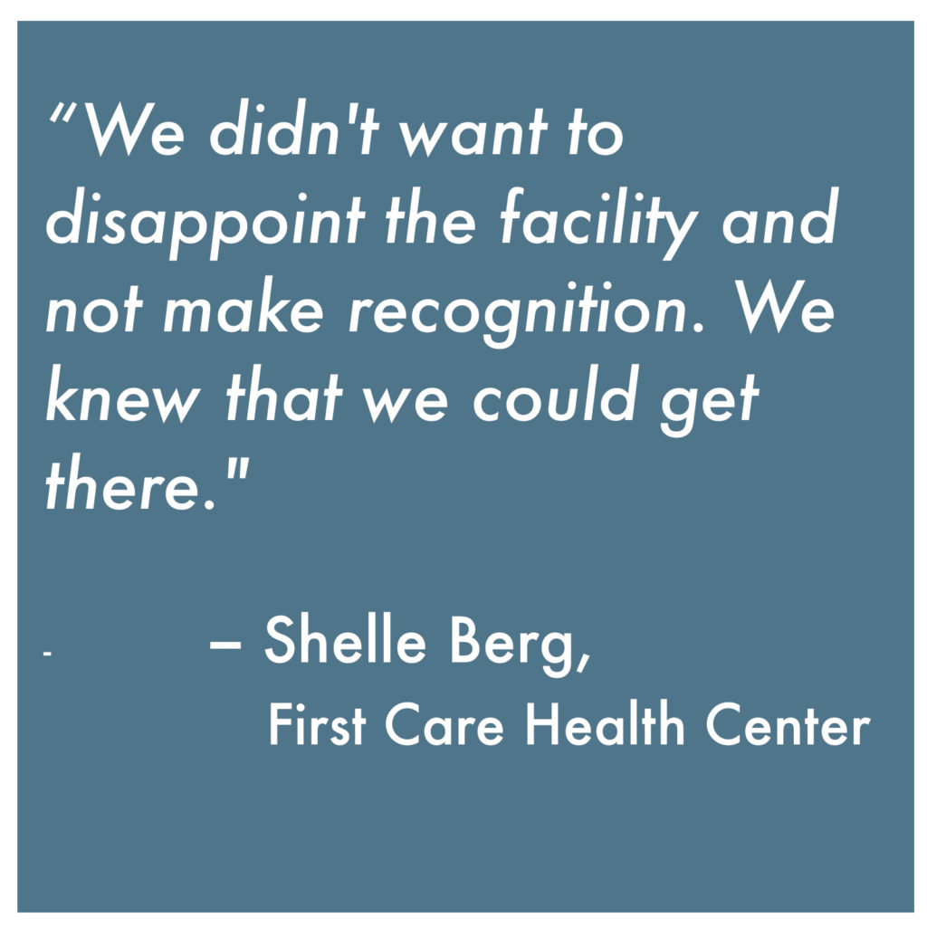 Quote on PCMH Recognition