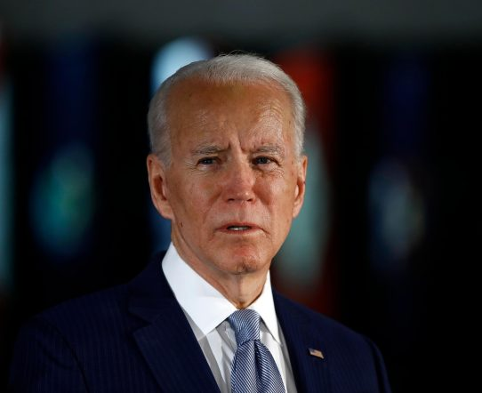 Biden Head Shot